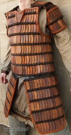 http://www.wojmir.pl/lamellarorange002.JPG not that i need any more sets of leather armour but I'd quite like some lamella armour