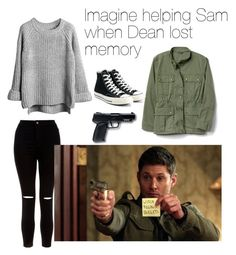 Imagine helping Sam when Dean lost memory Supernatural Inspired Outfits, Supernatural Fashion, Tv Show Outfits, Fandom Outfits, School Looks, Girls Fashion Clothes, Fashion Outfits, Winchester, Character Inspired Outfits
