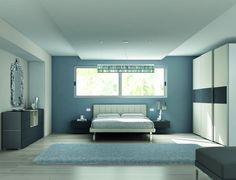 EM11 manželská postel ve světlé barvě