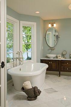 Bohns Point Residence - traditional - bathroom - minneapolis - Alexander Design Group, Inc.