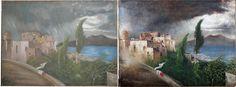 Csontváry olajfesték bundában - Festményvizsgálat New College, Painting, Art, Art Background, Painting Art, Kunst, Paintings, Performing Arts, Painted Canvas