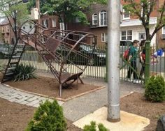 Rocket Ship Playground, George W. Nebinger, Philadelphia