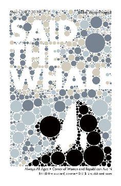 said the whale - gig poster