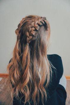 - 70 Super Easy DIY Hairstyle Ideas For Medium Length Hair Ecemella – … 70 Super Easy DIY Frisur Ideen für mittellanges Haar Ecemella – … Curly Hair Styles, Medium Hair Styles, Hairstyles For Medium Length Hair Easy, Medium Length Hair Braids, Simple Braided Hairstyles, Hair Medium, Super Easy Hairstyles, Girls Long Hair Styles, Cute Hair Styles Easy
