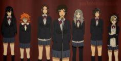 Haikyuu!! - Azumane, Daichi, Sugawara, Tanaka, Nishinoya, Kageyama and Shouyou - Genderbent