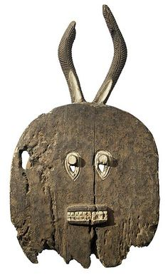 Baule Goli Mask (Kplekple Mask) 8, Ivory Coast