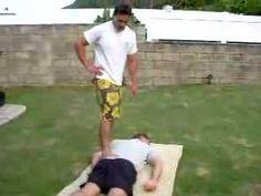 Judd Kealohakeikihipa McCandless native Hawaiian Lomi Lomi massage practitioner working on client in Waimanalo. Judd is a descendant of James Sutton McCandle. Massage Tools, Massage Therapy, James Sutton, Lomi Lomi, Great Names, Massage Techniques, Barefoot, A4, Massage