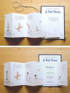 El pequeño príncipe/Le Petit Prince Baby Shower o por MKLstudio