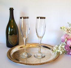 vintage champagne flutes | Champagne Flutes