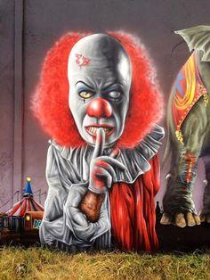 Creepy!! Jeaze Oner - Silenced by a clown...hip hop instrumentals updated daily => http://www.beatzbylekz.ca