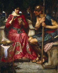 """""""Jason and Medea"""", John William Waterhouse, 1907"""