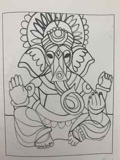 Ganesha, Canvas, Artwork, Tela, Work Of Art, Auguste Rodin Artwork, Ganesh, Canvases, Artworks