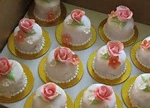 victorian cakes petit fours and flowers on pinterest - Bing Images