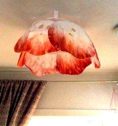 Lamp felting