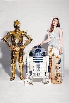 Star Wars X Paper Magazine Rodarte Dress