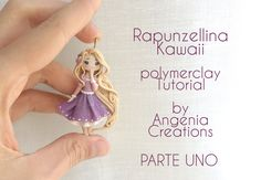Tutorial angenioso - Creare una Rapunzellina kawaii in fimo - livello su...