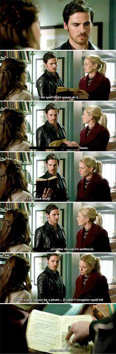 "Emma and Killian - 6 * 9 ""Changlings"" #CaptainSwan"