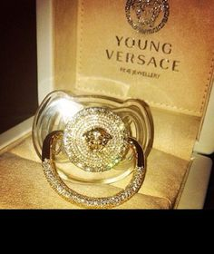Versace, baby, and luxury image Baby Bling, Baby Outfits, Cute Babies, Baby Kids, Baby Swag, Everything Baby, Baby Girl Fashion, Kids Fashion, My Baby Girl