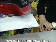 Tv Transamérica - TÉCNICA DE EFEITOS COM BETUME parte 1
