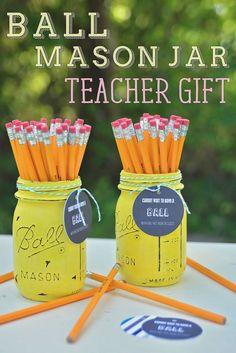 Ball Mason Jar Teach