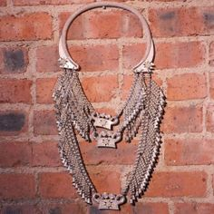 """Sterling Silver - HEAVY HANDMADE One-Of-A-Kind 1497.5g - Necklace (24"""") RZ500"""
