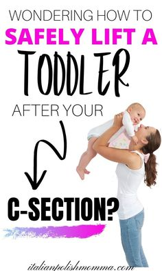 Wondering how the heck you'll take care of your toddler after your c-section delivery? Here are 15 tips to help moms survive c-section recovery with kids at home! These postpartum tips will help you learn how to lift your toddlers and care for them while taking care of yourself! #csectionrecovery #postpartum #csectiontips #postpartumtips #motherhood #toddlers #pregnancy #newborns Pregnancy Health, Pregnancy Tips, C Section Workout, Breastfeeding After C Section, After Baby Workout, C Section Scars, C Section Recovery, Body After Baby, Postpartum Recovery