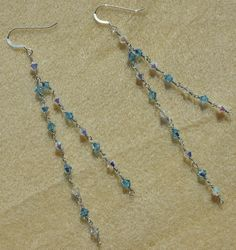 'Hand made Earrings ' is going up for auction at  4pm Thu, Jan 17 with a starting bid of $5.