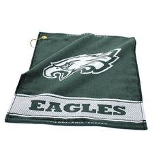 Philadelphia Eagles NFL Woven Golf Towel