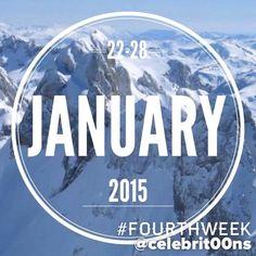 """""""#FourthWeek #January #Enero #2015 A partir de vuestros """"Me gusta"""" os dejo, en 15"""", lo que más habéis destacado de la galería, publicado esta última…"""""""