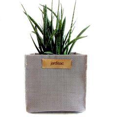 square plant pots grey in geotextile planter boxe for flower Plant Pots, Potted Plants, Ikebana, Garden Pots, Planters, Grey, Flowers, Collection, Color