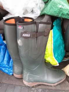 Aigle Parcours 2 Outlast -- one of the first things to go in the boot when I'm heading out anywhere. Hunter Boots, Rubber Rain Boots, Wildlife, Shoes, Products, Fashion, Shoes Outlet, Fashion Styles, Shoe