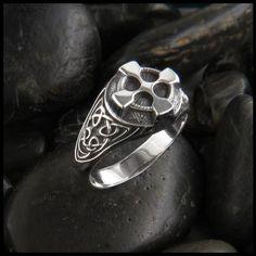 Bold Celtic Cross Ring