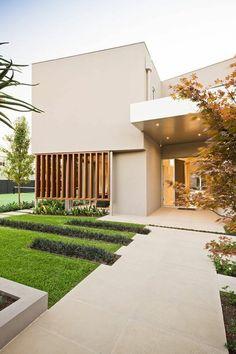 Fesselnd Warm Minimalist Landscape Design In Caulfield | Pinterest | Landscape  Designs, Minimalism And Landscaping