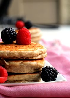 Oat and Yogurt Pancakes (GF)