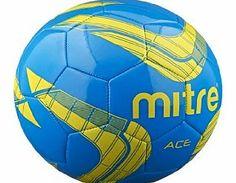 Mitre Ace Recreational Football - Blue/Yellow - 4 No description (Barcode EAN = 5037823886516). http://www.comparestoreprices.co.uk/football-equipment/mitre-ace-recreational-football--blue-yellow--4.asp