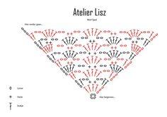 MORI SHAWL Crochet Chart by Atelier Lisz