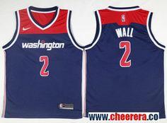 2b8c34fc027 Men s Nike Washington Wizards  2 John Wall Navy Blue NBA Swingman Jersey