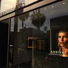 A beautiful night in Venice, California for a special Ambient Lighting Bronzer event at our Hourglass flagship store on Abbot Kinney Blvd. #HGAK