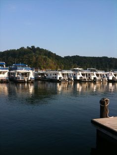 houseboat row at Lake Cumberland awesome vacation. Family Vacation Destinations, Best Vacations, Vacation Spots, Vacation Ideas, Houseboat Living, Deck Boat, Love Boat, Cool Boats, My Old Kentucky Home