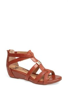 Söfft 'Bernia' Sandal available at #Nordstrom. I like these in the lighter color option. I like the back to hide my heels:)