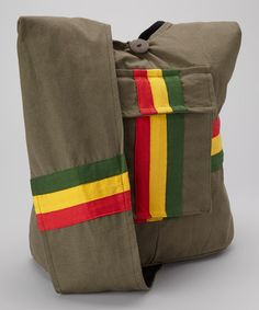 Take a look at this Green Rasta Bag by Avatar Imports on #zulily today!