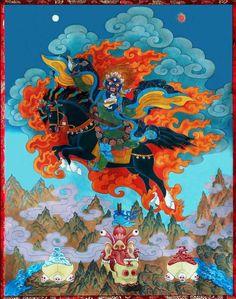 Yamantaka, Destroyer of the God of Death