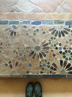 Totally in love! #tiles #Alhambra #Mudejar