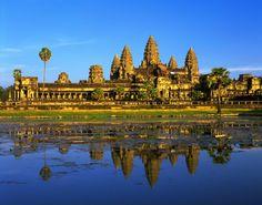 Angkor Wat's Bayon Temple.