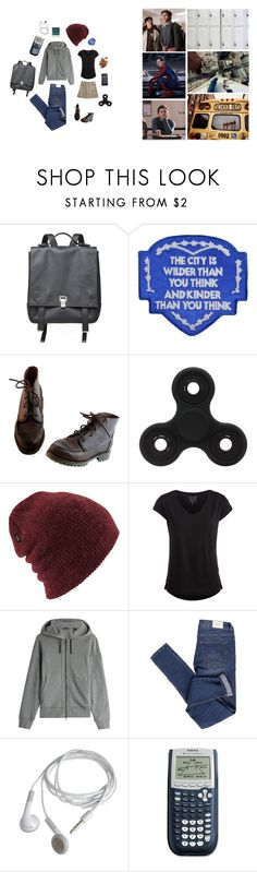 """spiderman: homecoming"" by pjm095 ❤ liked on Polyvore featuring GET LOST, Proenza Schouler, Each X Other, Timberland, Coal, Pieces, Belstaff, Cheap Monday, Polaroid and spiderman"