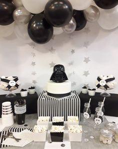 Fiesta Star Wars - mesa completa