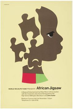 World Wildlife Fund Presents African Jigsaw | Eckersley, Tom | V&A Search the Collections