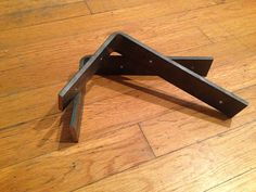 Made from 1/4 x 1.5 Steel Flat Bar. These brackets are perfect for the DIYer that wants to make sure they have substantial support for any shelf they are making!   This listing is for each bracket. Meaning quantity of 1 yields 1 bracket. We can customize the width of the flat and the length or height of the brackets. Simply convo us for prices and options.  30% penalty on orders cancelled after fabrication has begun.  This item ships in 5 business days from time of order. ( depending on ...