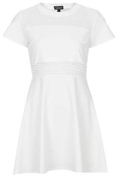 Airtex Panel Skater Dress - New In This Week - New In