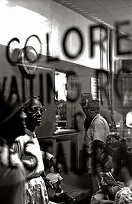'Colored Waiting Room' Montgomery, Alabama 1961 by Paul Schultzer